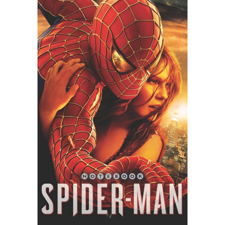 Spider-man: Spider-man Notebook : Notebook, Organize Notes, Ideas, Follow Up, Project Management, 6 inch x 9 inch (15.24 x 22.86 cm) - 110 Pages - Durable Soft Cover - Line (Series #13) (Paperback) Size: 6 inch