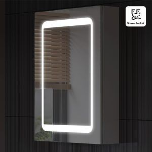Bathroom mirrors with led lights and shaver socket httpwlol bathroom mirrors with led lights and shaver socket aloadofball Gallery