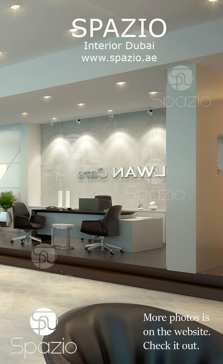 Car Showroom Interior Design In Dubai. Professional Office DecorShop ...
