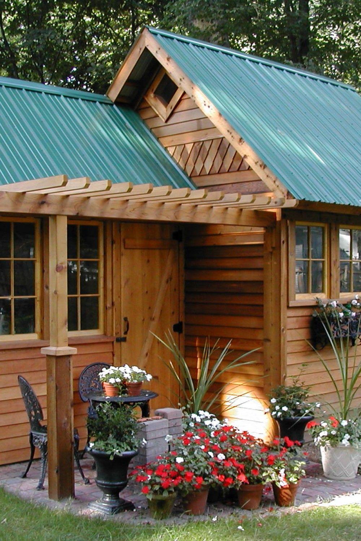 32 Inspirational Roof Ideas For Garden Shed Shed Design Shed Shed Decor