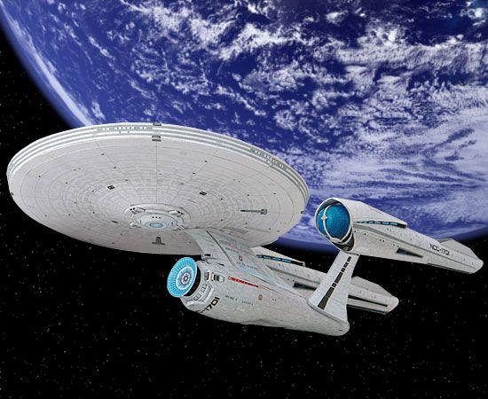 U S S  Enterprise (Star Trek) - detailed PDF printable at SF