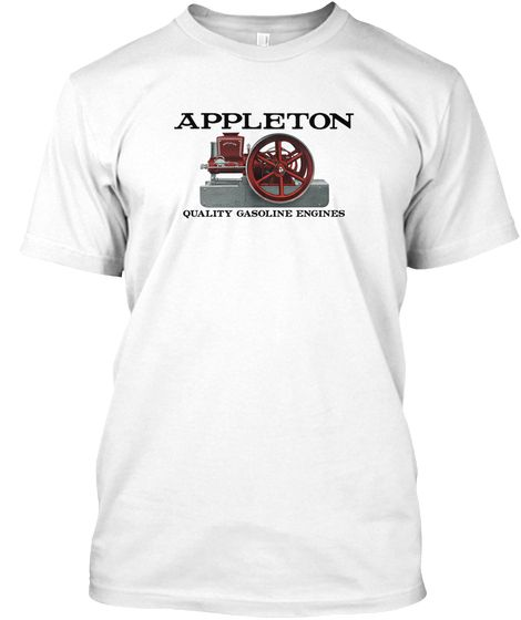 Appleton hit & miss engines. Mens tops, Engineering, Shirts
