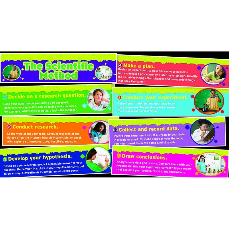 Children can master the scientific method with this set of easy-to ...