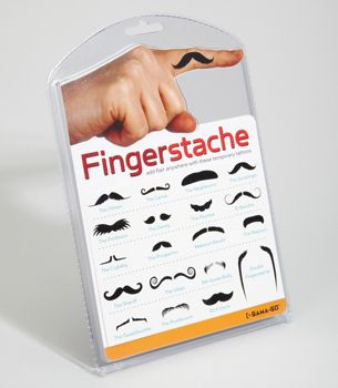 Oh you know my Jassy girl loves a good Fingerstache!