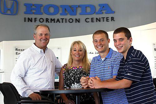 University Honda's owner, Doug Malinoff, believes living in the town