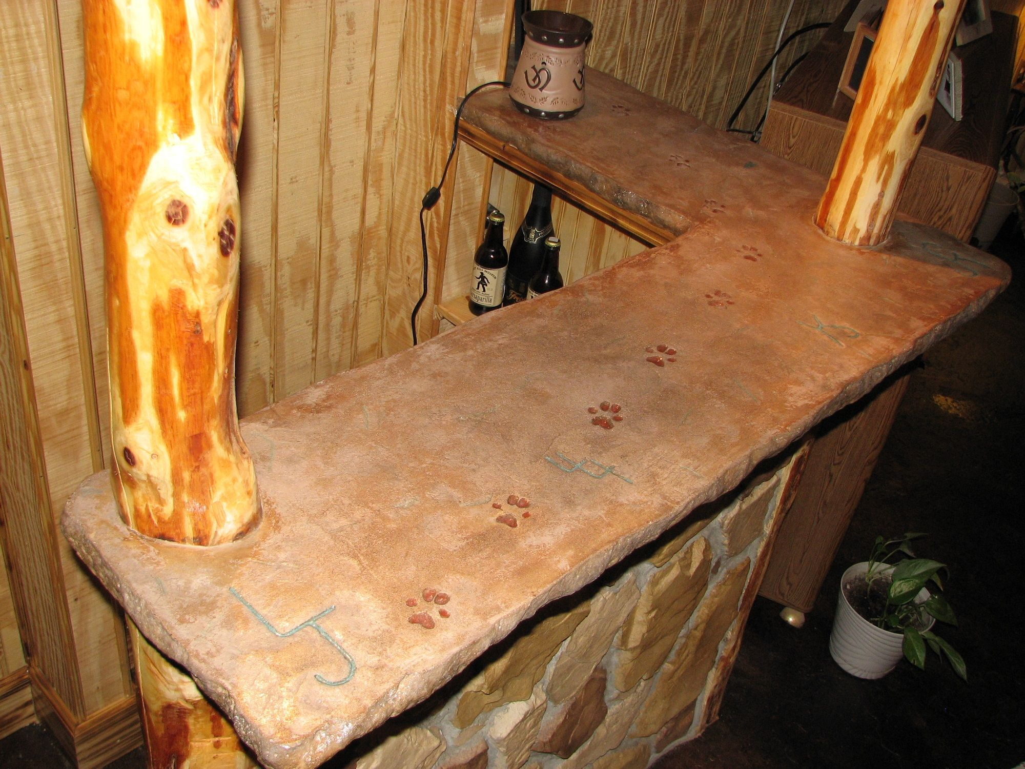 Concrete Countertop Overlay Concrete Countertops Outdoor