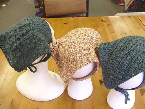 Head Kerchiefs 3 Pattern By Katie Chameleon Kerchief Pattern