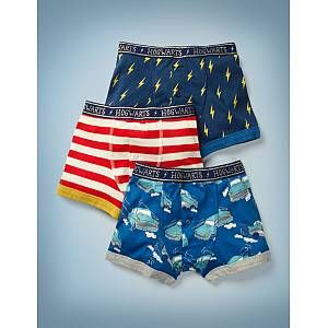 3 Pack Harry Potter Boxers - Multi | Boden UK