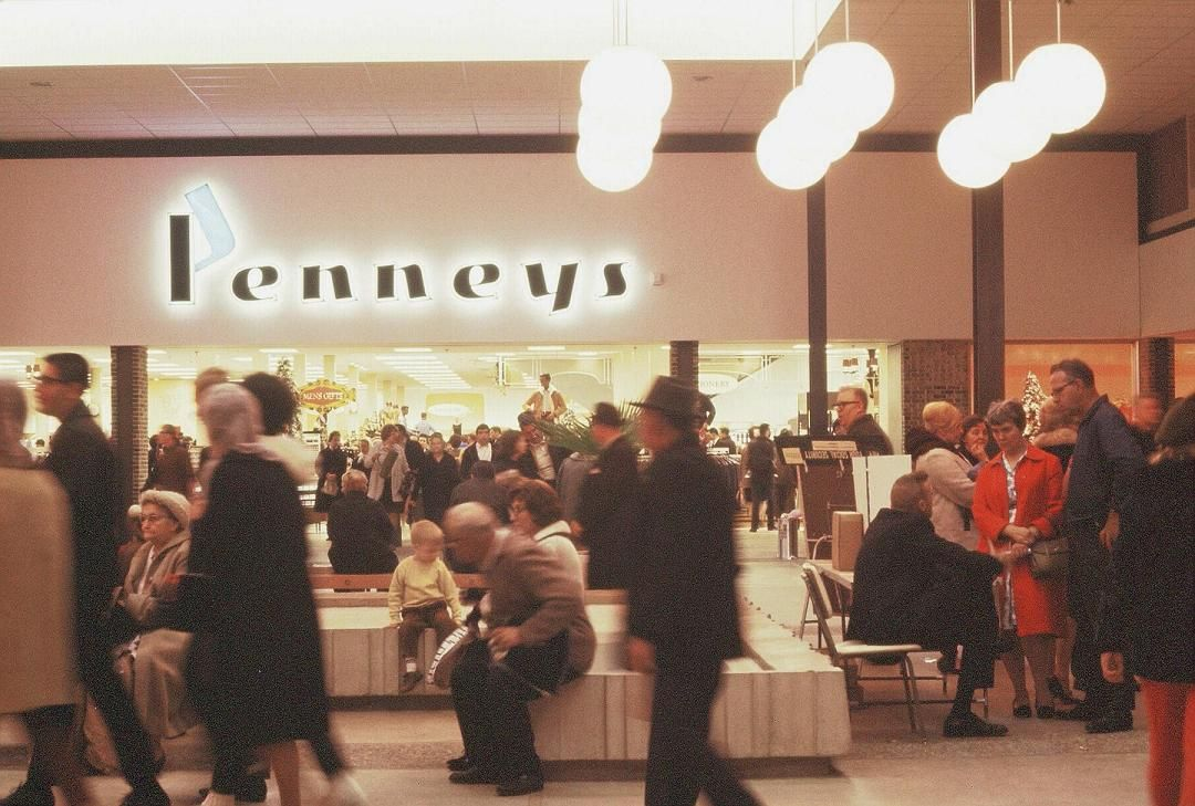 penneys dixie square mall 1966 vintage retail signs
