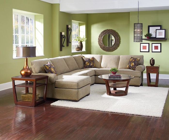Beautiful Living Room Furniture 3 Piece Sectional Sofa Lane