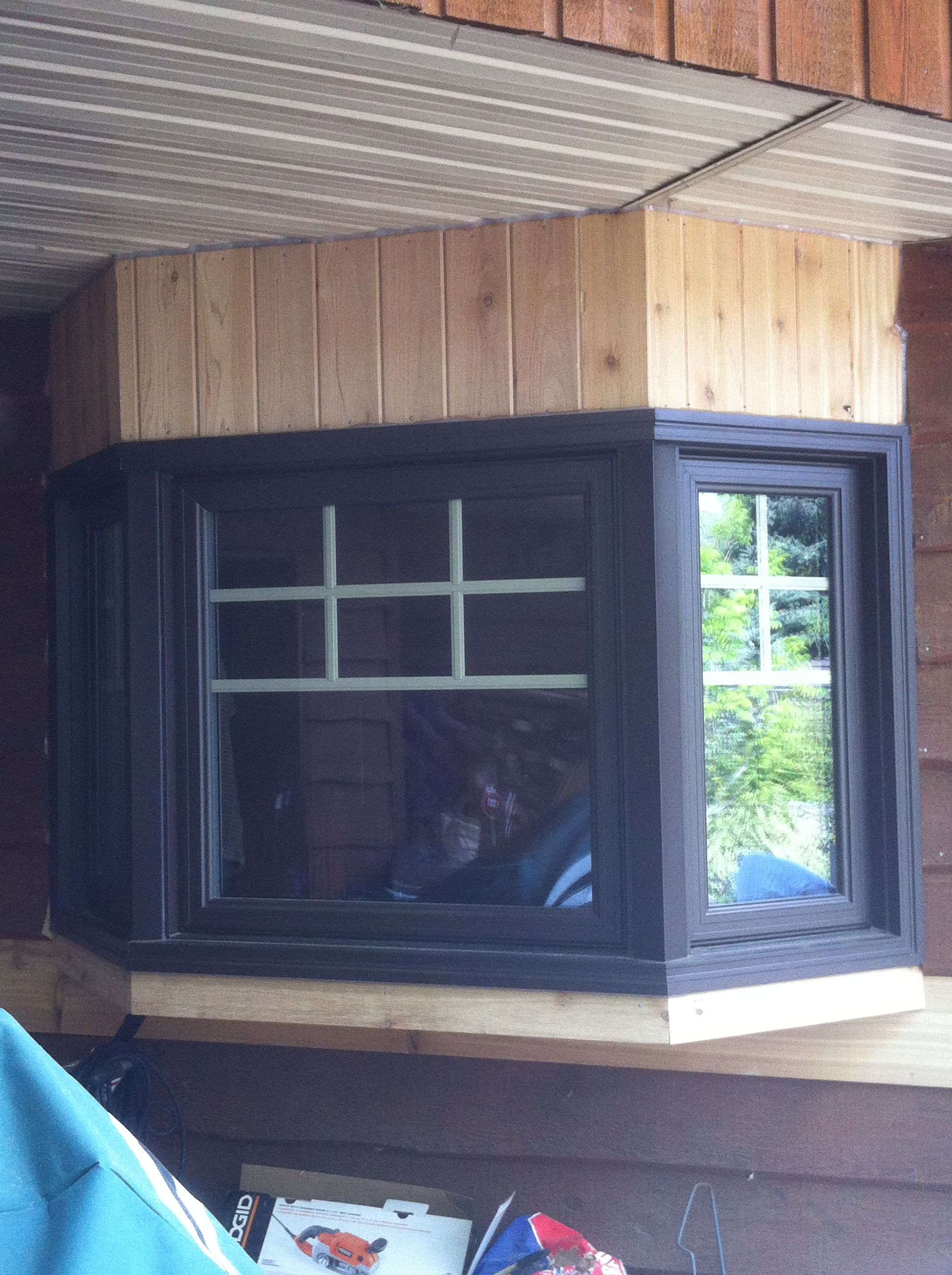 Aluminum Clad Bay Window Windows Installed By Accurate