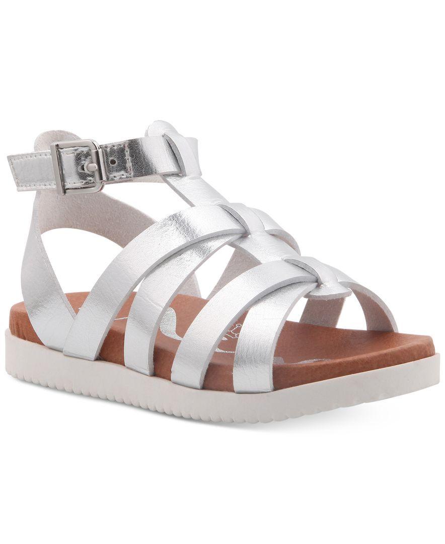 Nina Alpha Gladiator Sandals, Little Girls (11-3) & Big Girls (4.5-10.5)