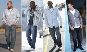 Fashionable clothes for big men 61