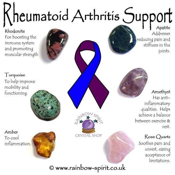 Rheumatoid Arthritis Support | Crystals Crystal healing ...