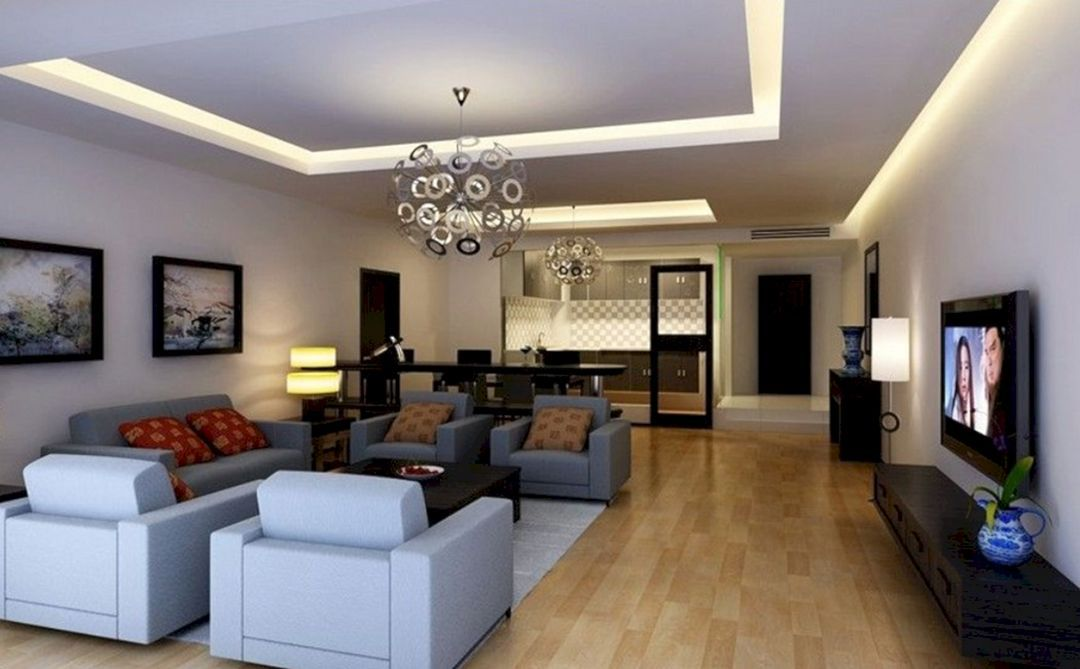 Top 27 Marvelous Living Room With Ceiling Light Design Ideas Https Decoor Net 27 Marve Ceiling Lights Living Room Beautiful Living Rooms Living Room Lighting