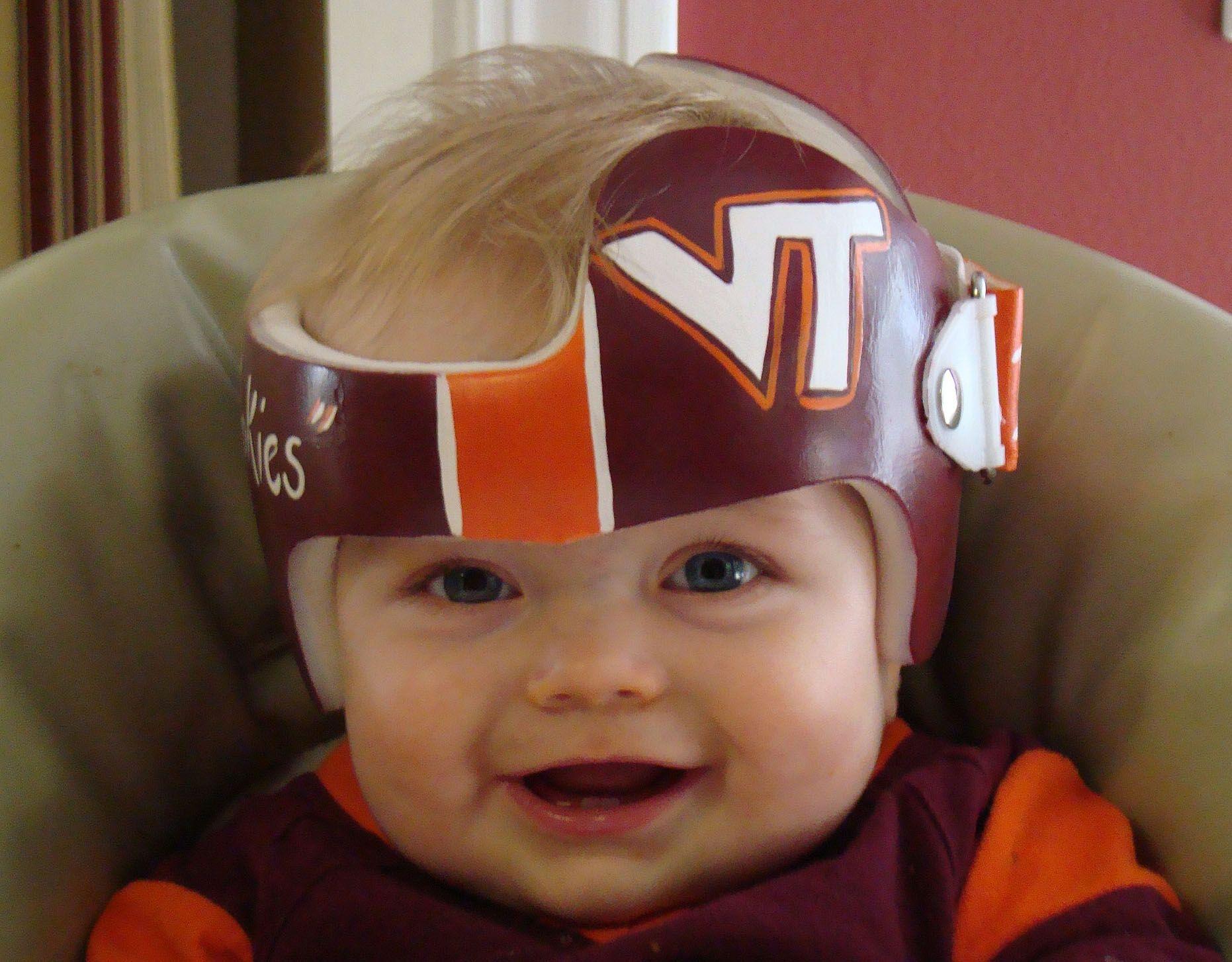 Virginia Tech Cranial Band DOC band/helmet https//www