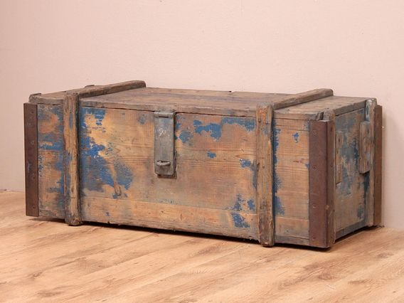 View Our Old Rustic Storage Chest From The Old Wooden Chests Trunks Boxes Collection Wooden Chest Toy Storage Chest Toy Storage