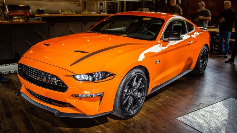 2020 Ford Mustang Ecoboost High Performance Brings Focus Rs Power