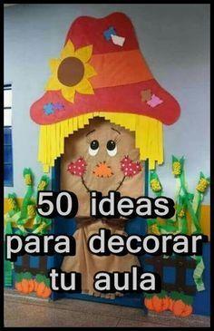 50 ideas para decorar tu aula aulas ideas para - Ideas para un salon ...