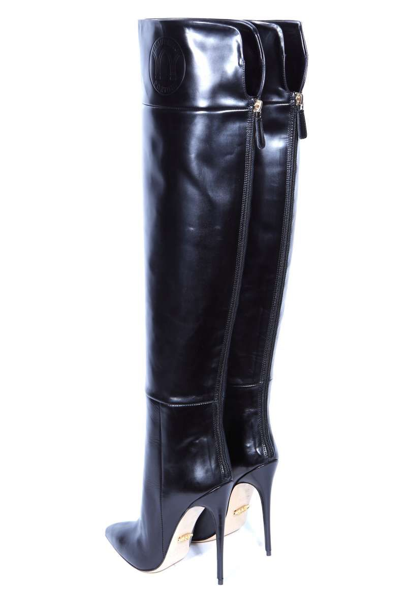 ALINA50 black in 2019 | LB | Boots, Heeled boots, Leather boots
