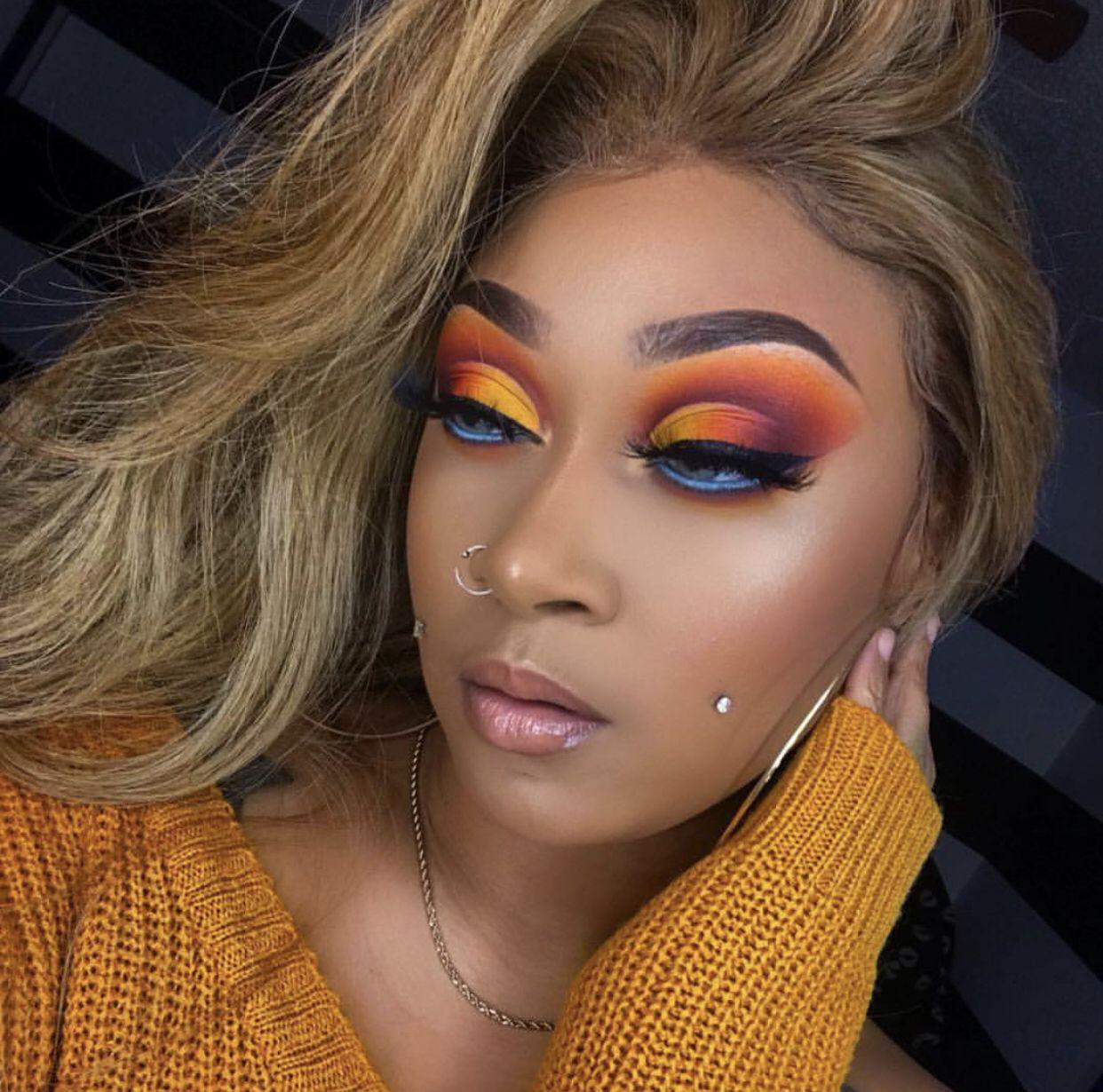 Pin by 💋Gamaliel💋 on •Glam Eyeshadow looks, Makeup looks