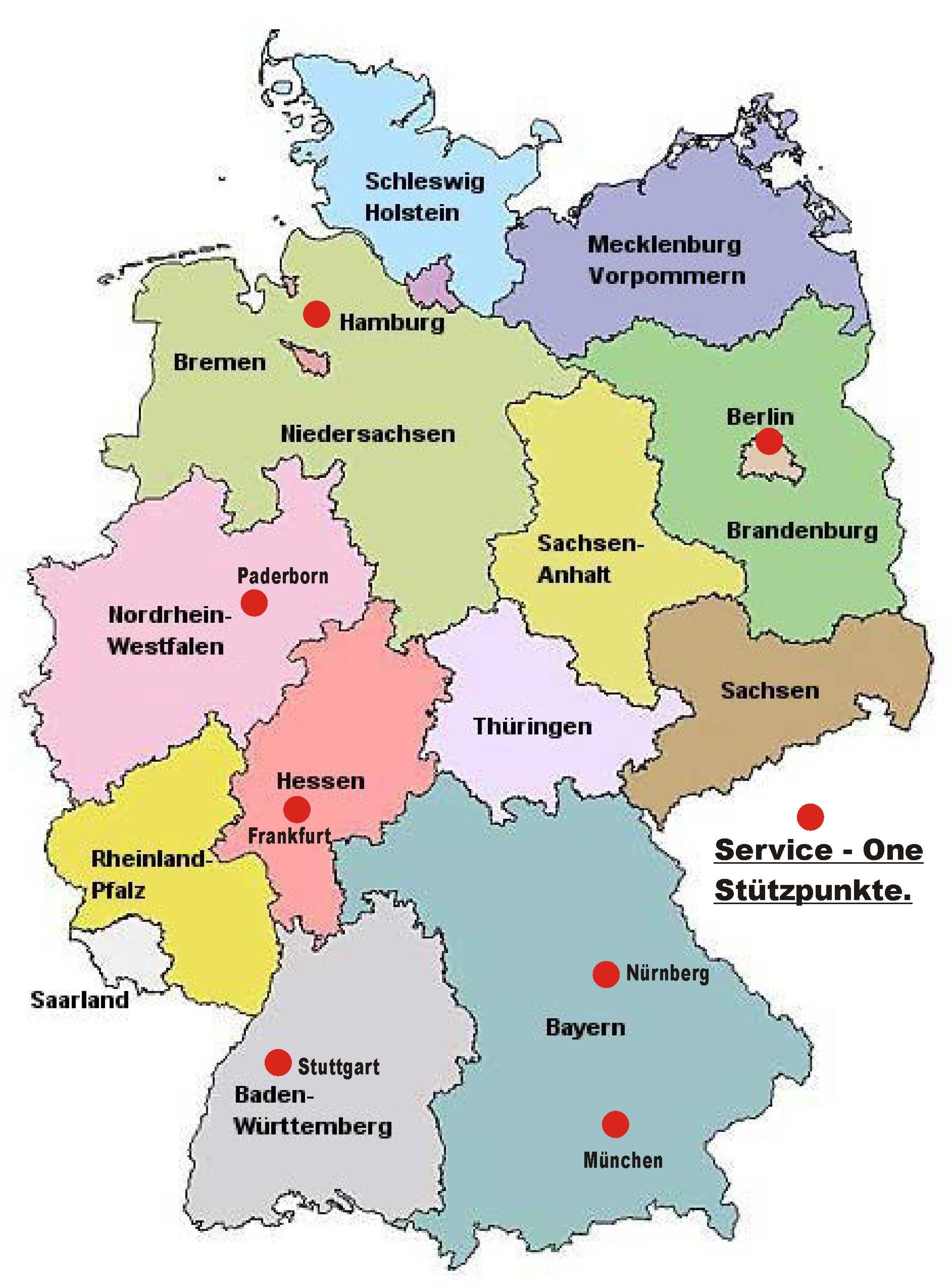 Deutschlandkarte Mit Bildern Deutschlandkarte Westfalen