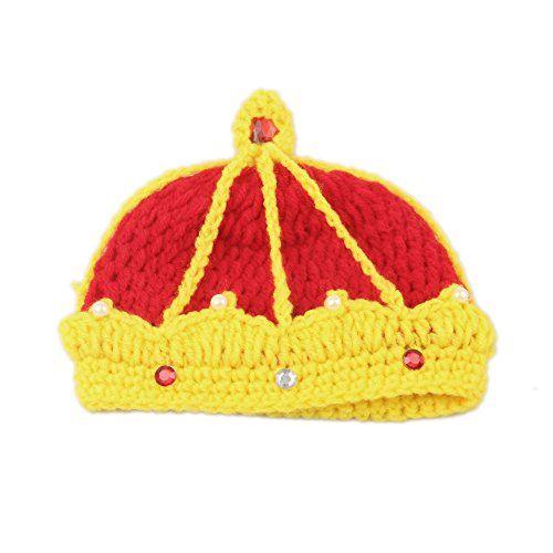 Elee Baby Handmade Crochet Knit Photo Prop Crown Hat Headwear Elee http://www.amazon.com/dp/B00SFIUBYE/ref=cm_sw_r_pi_dp_GzLavb11X7TNV