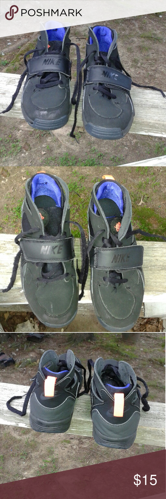 Selling this Nike Huarache Boys Shoes Size 2.5 youth on Poshmark! My  username is: