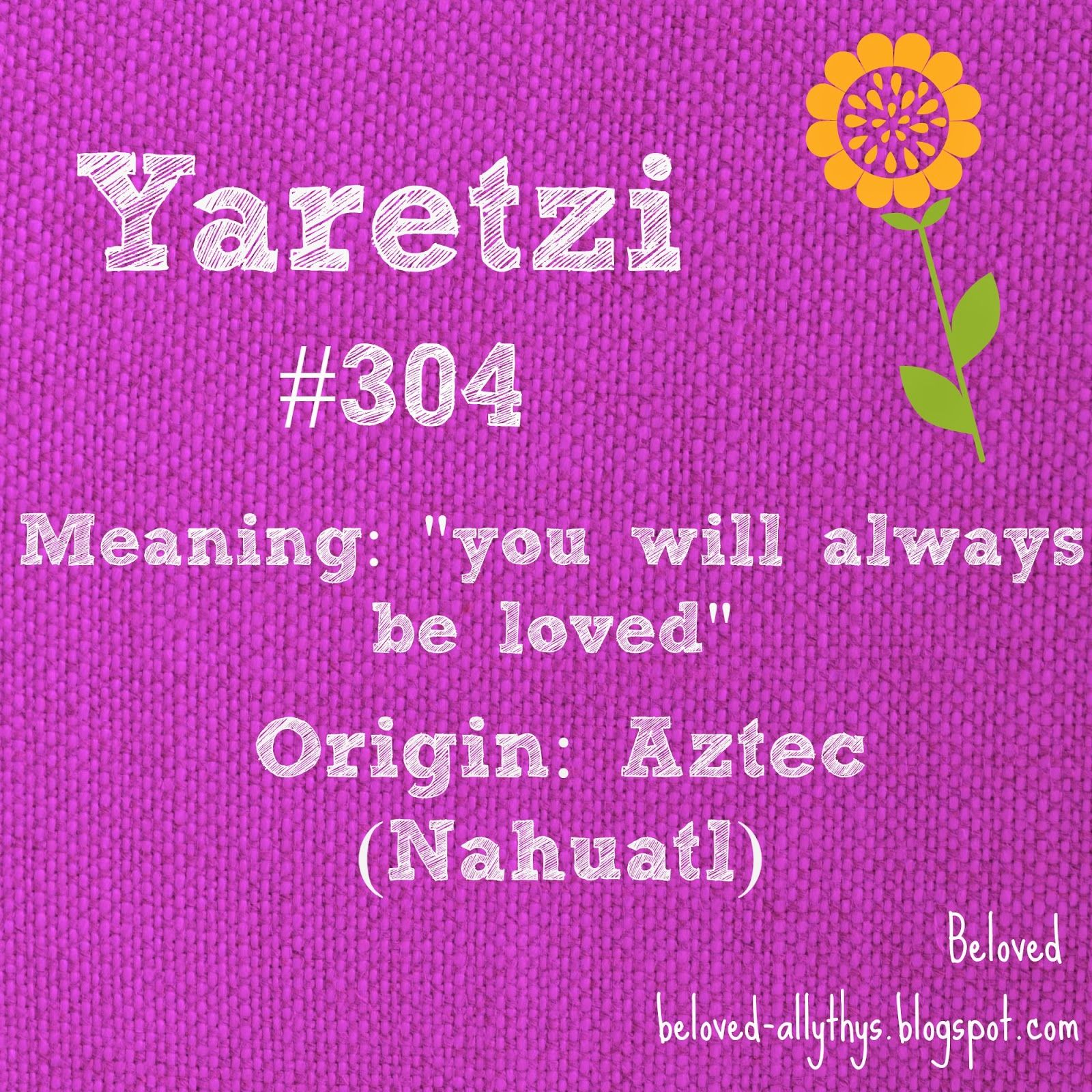 yaretzi is the most popular y name for a girl in 2013  i