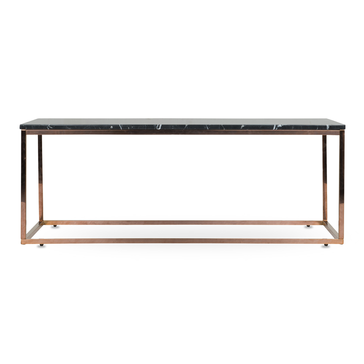 Copper Marble Coffee Table Black Xcm Living Room - Affordable marble coffee table