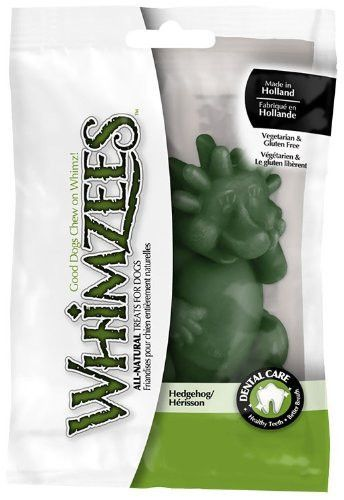Whimzees Hedgehog Dental Dog Treat Large 3.7 Inch/1 ct