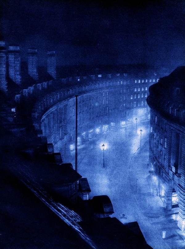 London Night By Harold Burdekin From 1934 London Night Urban Landscape London