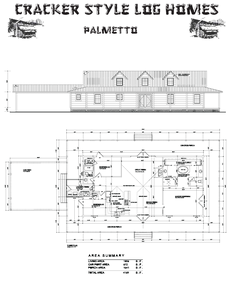 Cracker Style Log Homes Palmetto Log Homes Log Cabin Plans