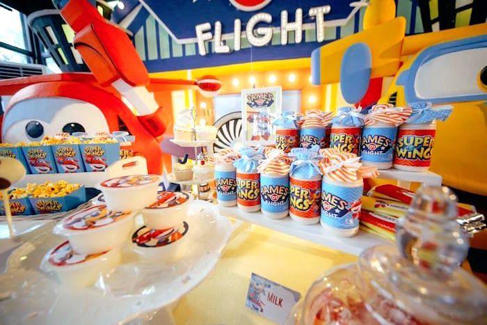 County Fair Themed Birthday Party Favour jars County fair and