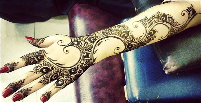 Mehndi Bunch On Arm : Best mehndi design arabic bridal designs for hands