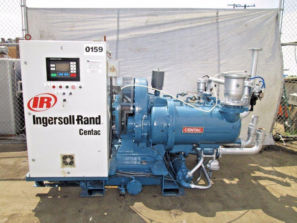Ingersoll Rand Centac 350 H P Air Compressor Air Compressor Ingersoll Rand Compressor