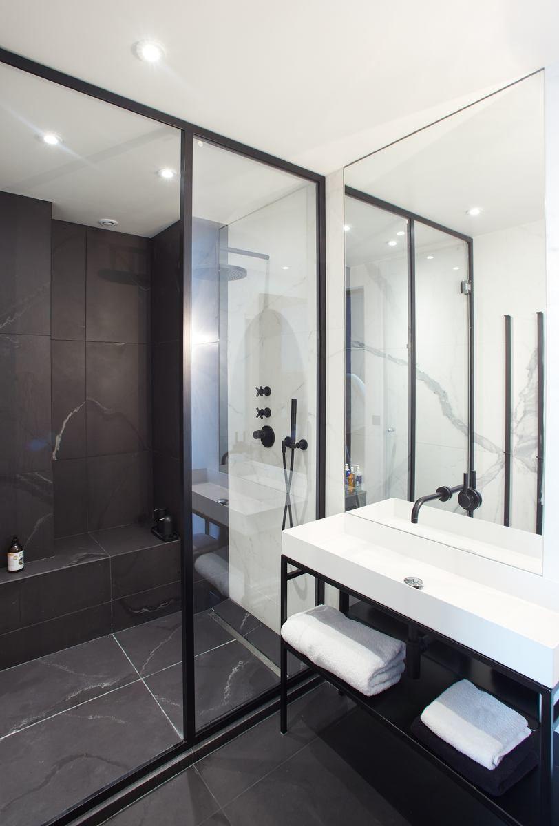 Salle De Bain Washroom ~ salle de bain appartement parisien de 115m2 gcg architectes