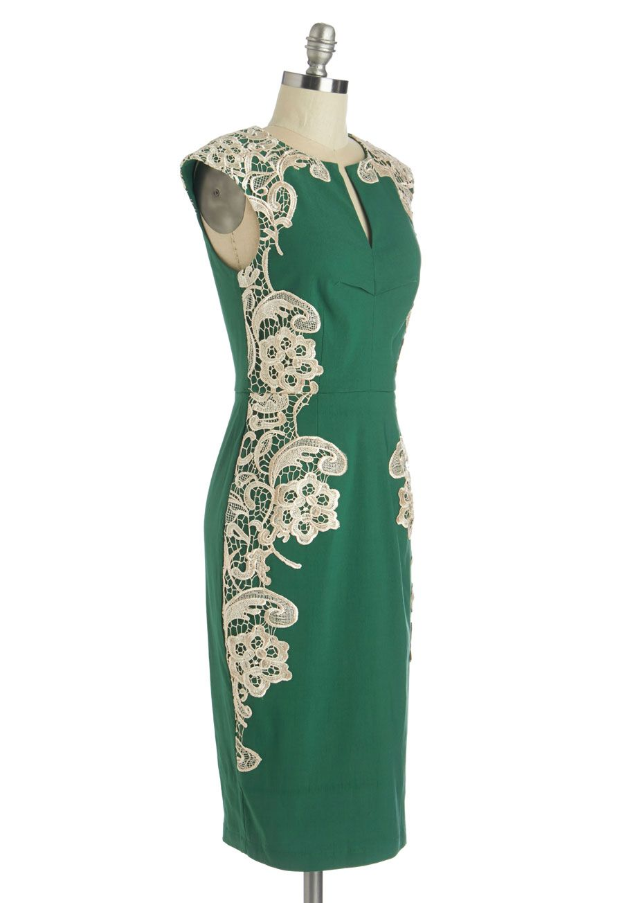 315d91098a2 Lakeside Libations Dress in Evergreen. Ringing in the New Year at your  upstate lodge