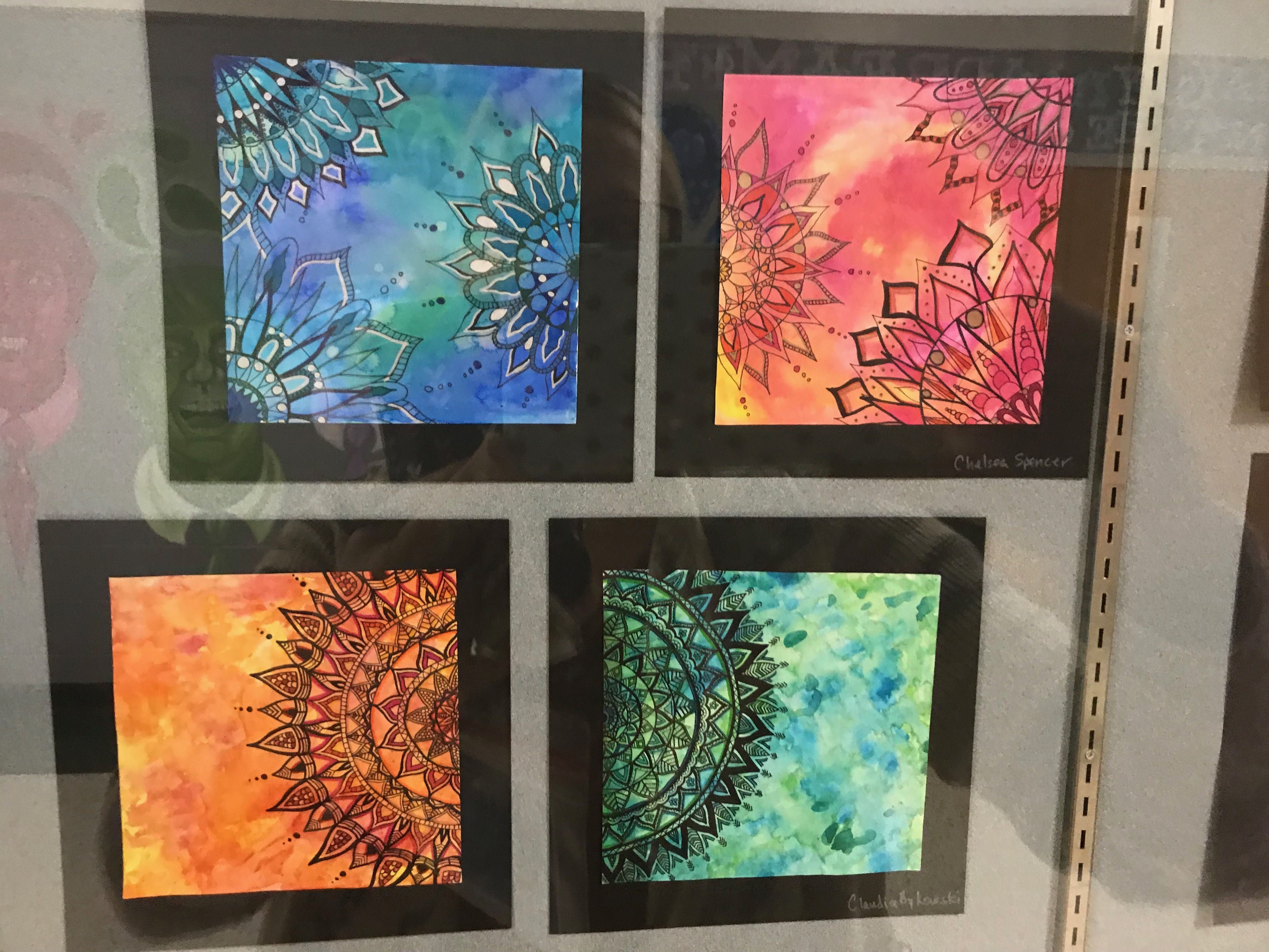 Middle Or High School Art Lesson Mindful Mandalas