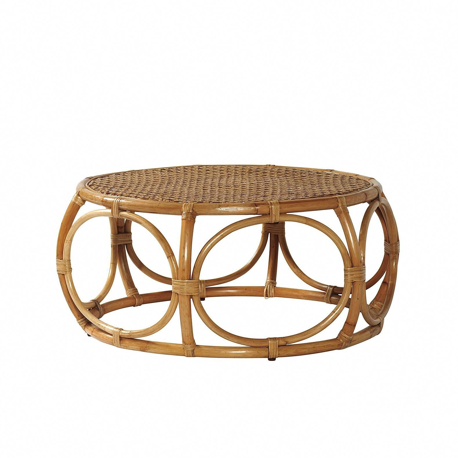 Elsa coffee table serena lily rattanfurniture with