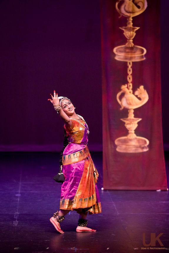 Anjali performing her arangetram at the irving arts center for Arangetram stage decoration