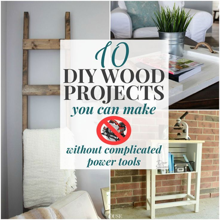10 DIY Wood Projects You Can Make without Complicated ...