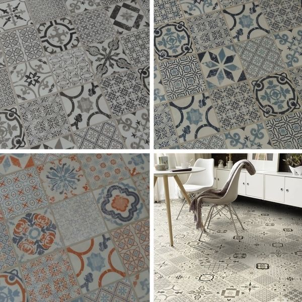 Sample Tarkett Starfloor Retro Victorian Waterproof Click Tiles