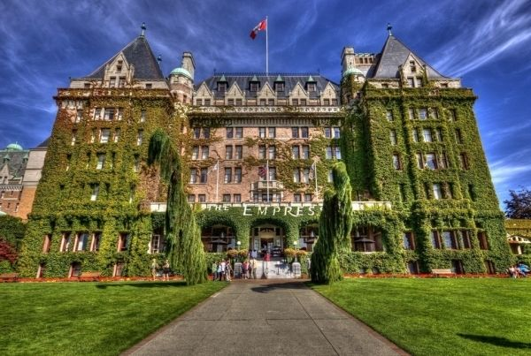 Fairmont Empress Hotel Victoria British Columbia Haunted