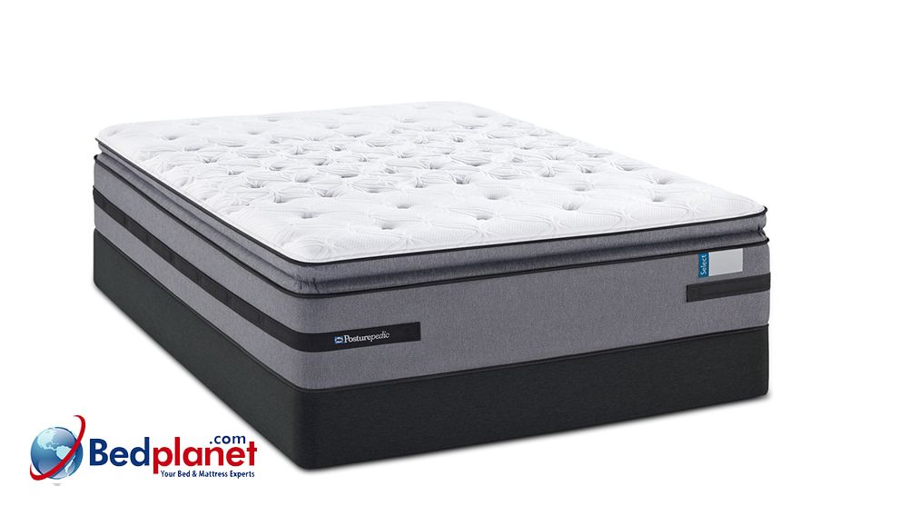 Sealy Posturepedic Hybrid Thurloe Firm Euro Pillow Top Mattress Bedplanet Bed Planet Bedplanet Com Posturepedic Mattress Sealy Posturepedic Mattress