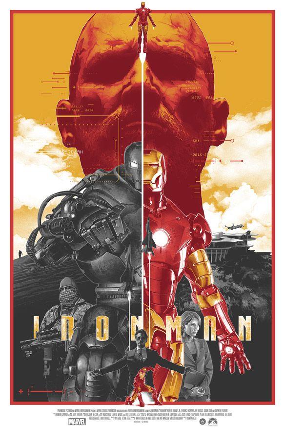 Iron Man Art Print by Gabz