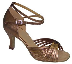 Featherlite Dance Shoes Jodi Bronze Leather