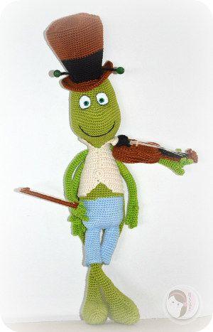 Biene Maja Grashüpfer Flip Tiere Häkeln Crochet Crochet