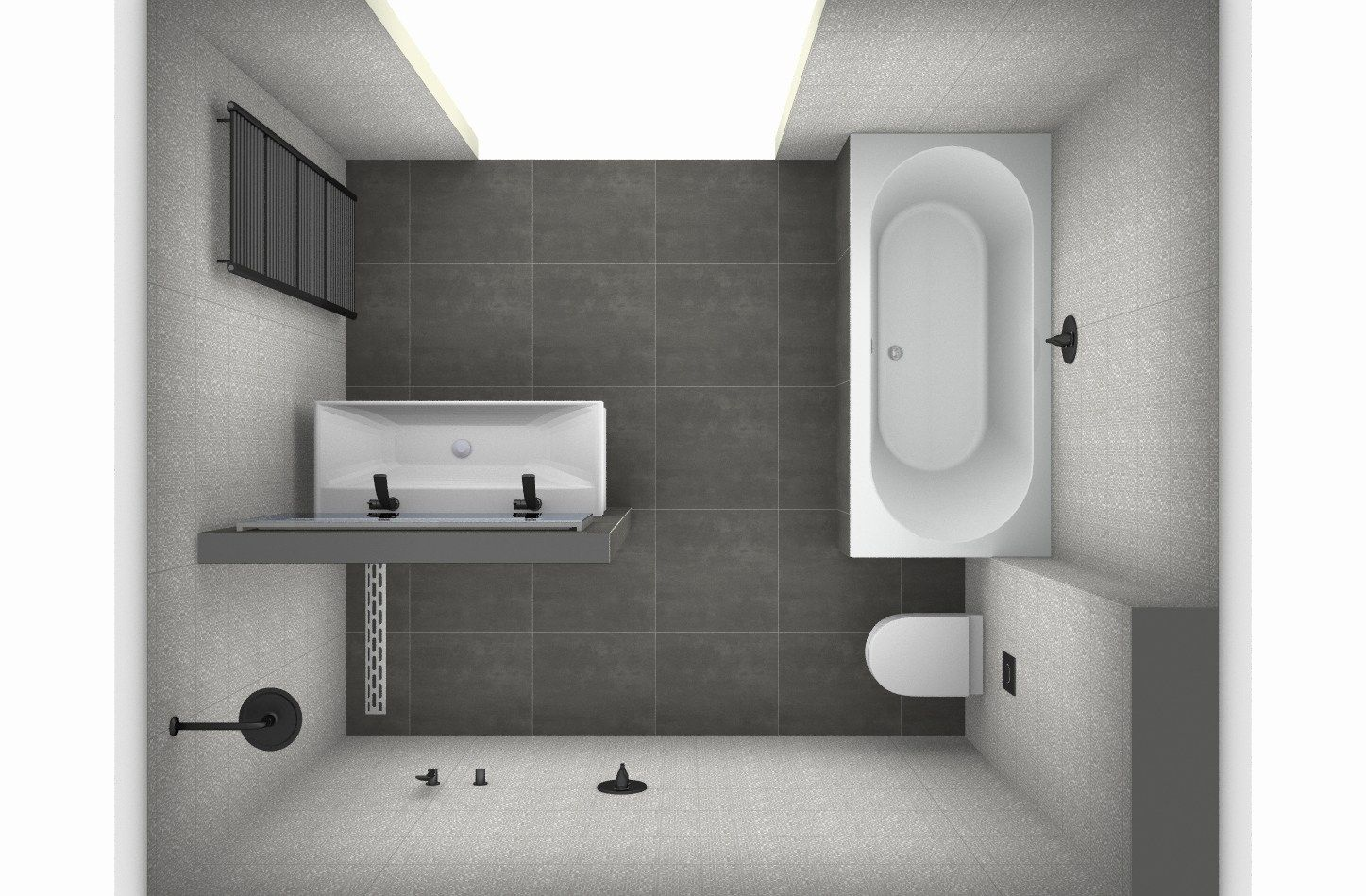 「gemauerte dusche ohne glas」の画像検索結果 Badgestaltung, Luxus