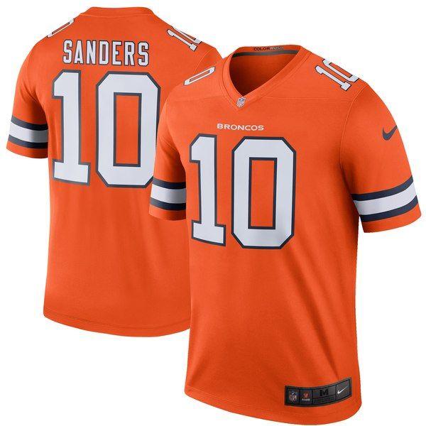 Nice Emmanuel Sanders Denver Broncos Nike Color Rush Legend Jersey  hot sale